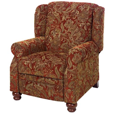Accent Recliner by Jackson Belmont Accent Push Back Recliner Recliners At
