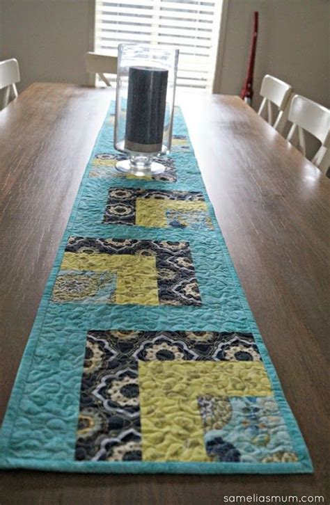 free pattern table runner table runner patterns free woodworking projects plans