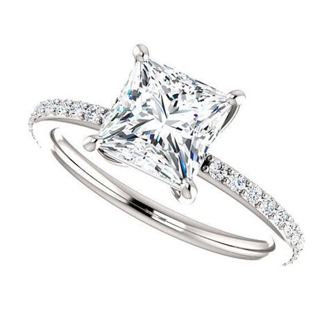 best 25 princess cut ideas on rings