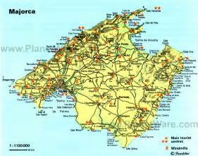 Mallorca World Map by Majorca Cycling Heaven Cycling Hell Sicycle
