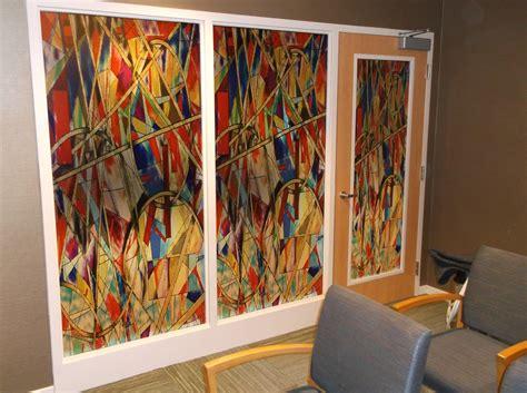 decorative glass film decorative window film jacksonville florida stained