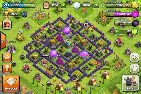 clash of clans strategy level 7 farming base design town hall clash of clans base designs for town hall 10 town hall 9