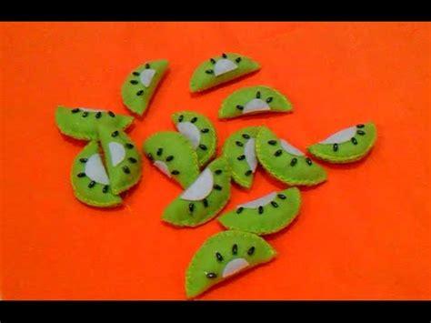 cara membuat corak buah dari muhd youtube membuat hiasan toples flanel buah kiwi erika flannel