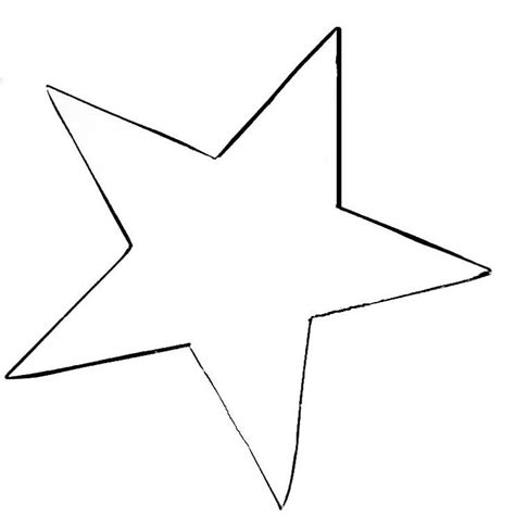 printable images of a star free printable star template calendar template letter