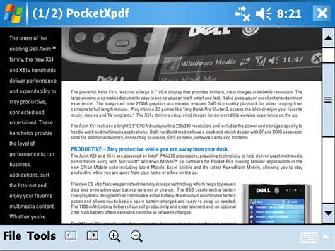 palmari windows mobile pocketxpdf pocket pc