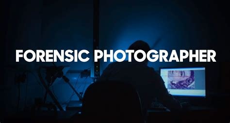 forensic photographer imprint lab
