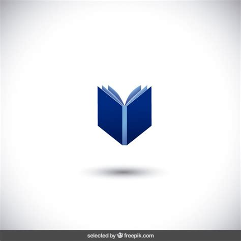book free download blue isolated book vector free download