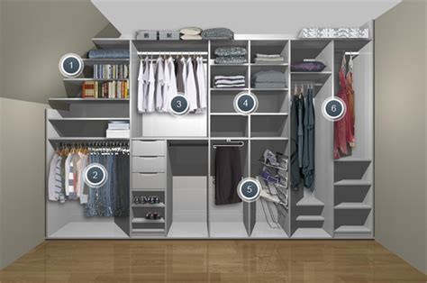 storage solutions for attic bedrooms attic built in storage loft wardrobes angled ceiling