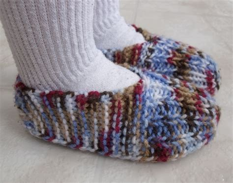knitted slipper patterns kweenbee and me how to knit children s slippers