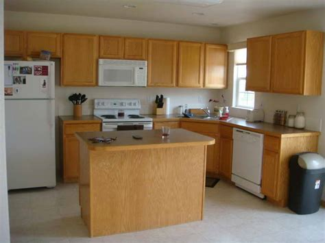 kitchen paint colors with oak cabinets your home
