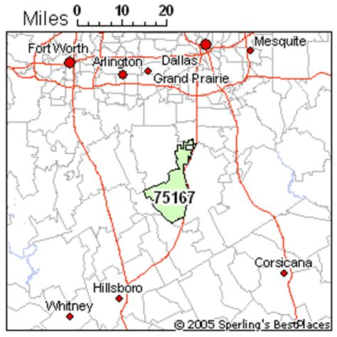 waxahachie texas map best place to live in waxahachie zip 75167 texas