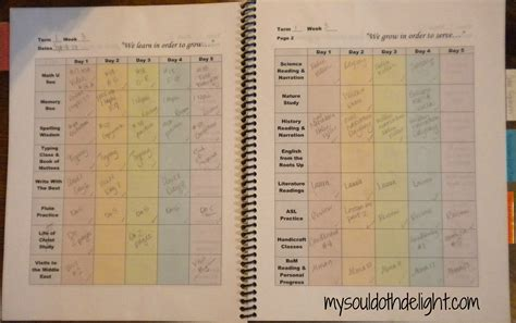 daily planner template for college students cortezcolorado net