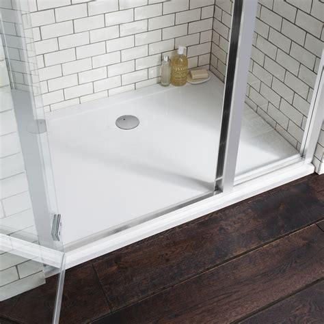 How To Fit A Shower Tray Big Bathroom Shop Bathroom Shower Trays
