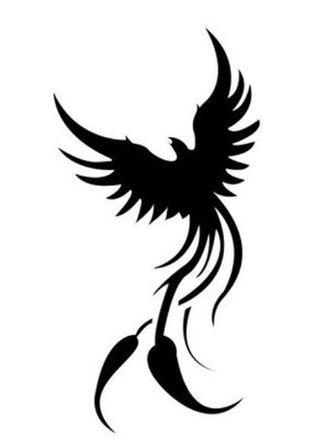 simple phoenix tattoo designs tribal tattoos gallery page 2