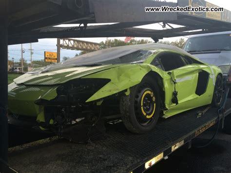 Salvage Lamborghini Aventador Lamborghini Aventador Wrecked Parsippany Nj Usa