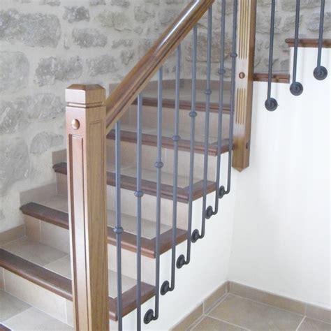 barandillas de hierro para escaleras torneados fuentespalda barandillas y escaleras de madera