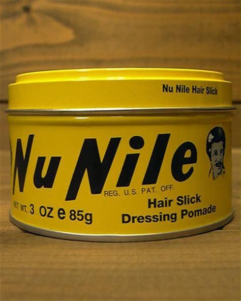 Nu Nile Yellow Nu Nile Murrays Pomade Hair Slick Dressing 85 Gram 1 murray s nu nile pomade sumally サマリー