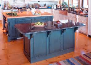 Painted Islands For Kitchens by Redirecting