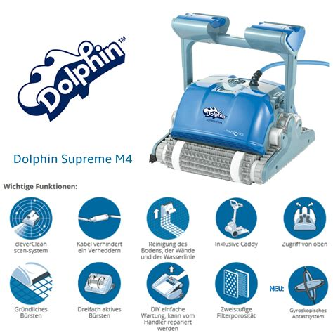 dolphin supreme m4 dolphin m400 gyro maytronics schwimmbadservice