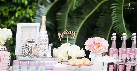 bridal shower ideas pink book weddings south africa