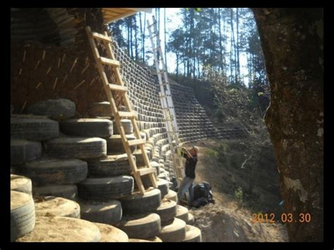 what are walls made of tire walls retaining walls pangea builders