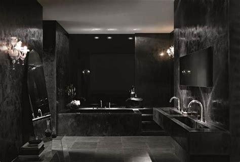 black bathroom design ideas 20 bold black bathroom design ideas rilane