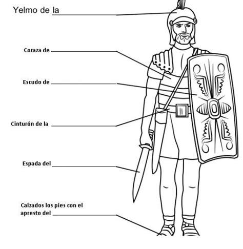 sopa de letras de la armadura de dios armaduradedios efesios 611 al 17 dibujo de la armadura de