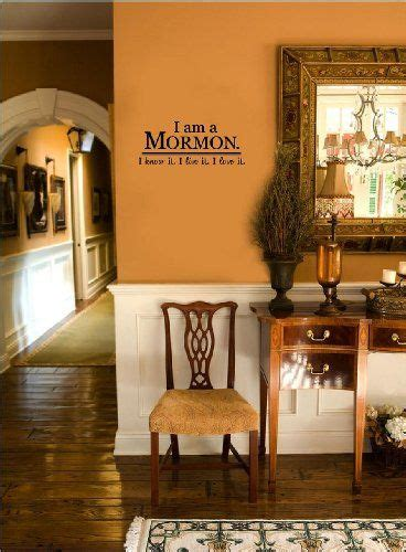lds home decor lds mormon i am a mormon i know it i live it i love