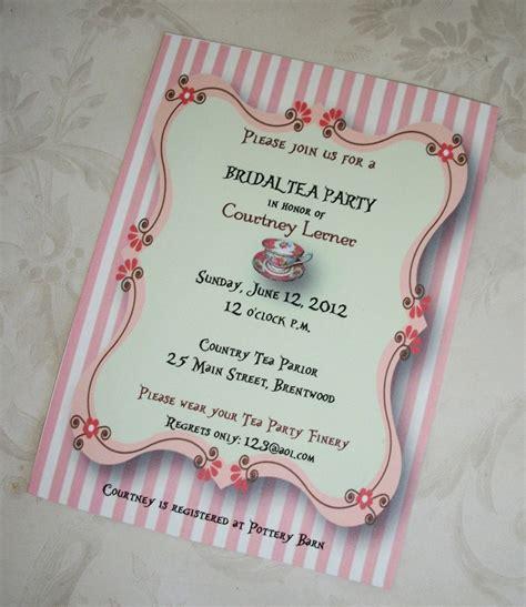 free bridal shower tea invitation templates image princess tea invitation wording