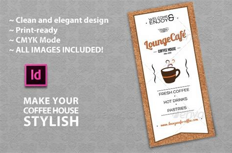 Free And Premium Food And Restaurant Menu Brochure 56pixels Com Coffee House Menu Template