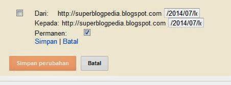 membuat link redirect cara membuat pengalihan url redirect link blogger