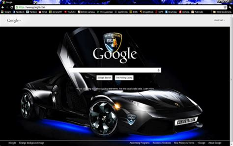 theme chrome lamborghini rev up your browser with some google chrome car themes