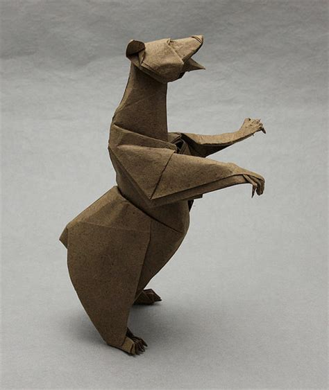 Origami Bears - origami animals
