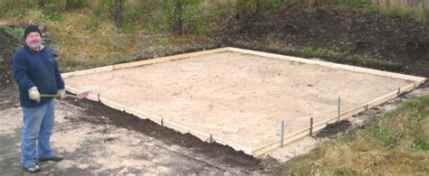 garage fundament fundamente boden der fertiggaragen
