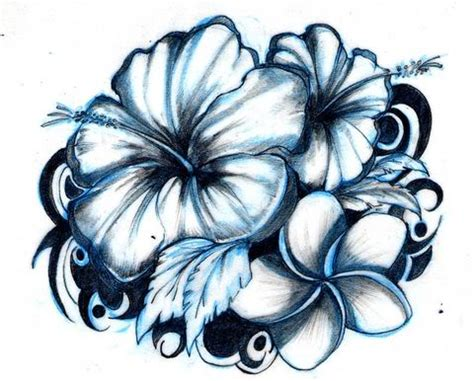 hawaiian flower tattoos for men flower designs flower designs free flower
