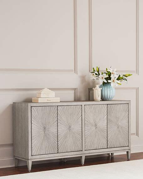 Hooker Furniture Starburst Pattern Console