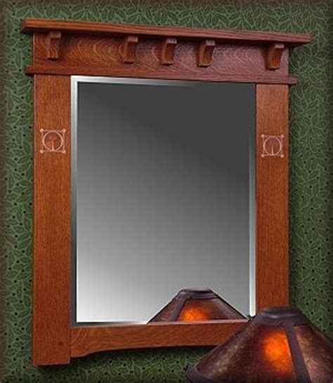 mission style bathroom mirror pin by monica erickson on craftsman style pinterest