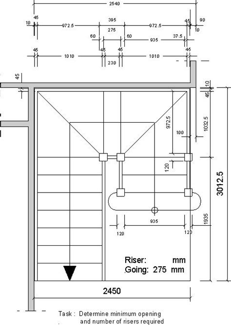 standard l post size 9 best images about staircase dimensions on