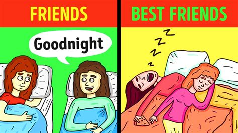 friend best friend friends vs best friends
