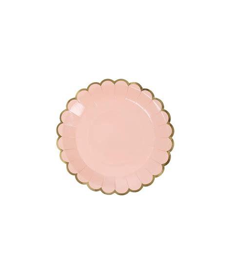 Scallop Solid Paper Cups Pastel pastel scallop canape plates mini