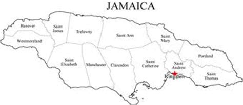 printable map of jamaica with parishes some interesting facts about jamaica