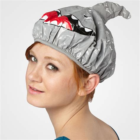 Shower Cap shark fin shower cap