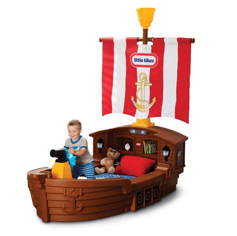 tikes bed tikes tikes pirate ship toddler bed by oj