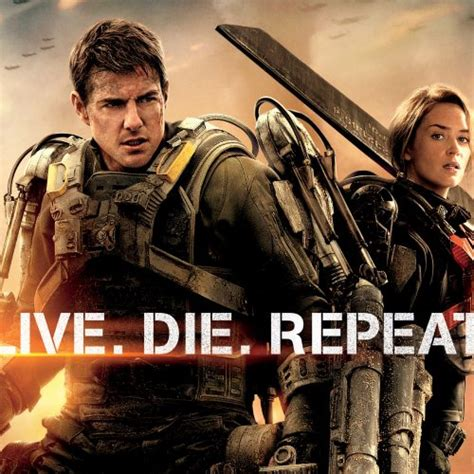 Live Die Repeat live die repeat and repeat tom cruise and emily blunt