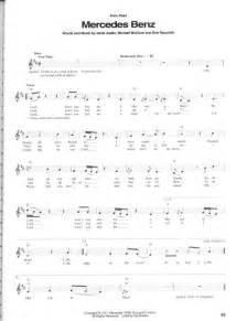 Janis Joplin Mercedes Chords Janis Joplin The Best Of Guitar Songbook