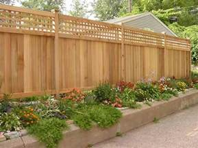 patio fencing landscape fence ideas and gates landscaping network