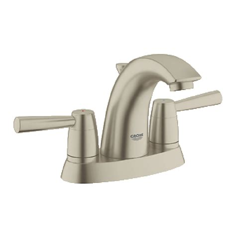 Grohe Modern Bathroom Faucets Grohe Arden 4 Quot Lavatory Centerset Brushed Nickel Free