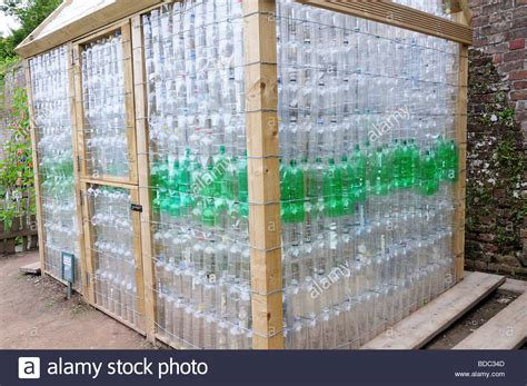 Plastic Bottle Shed by Garden Shed Greenhouse In Wood And Recycled Plastic