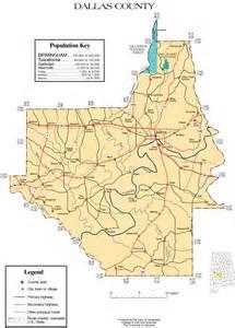 maps of dallas county