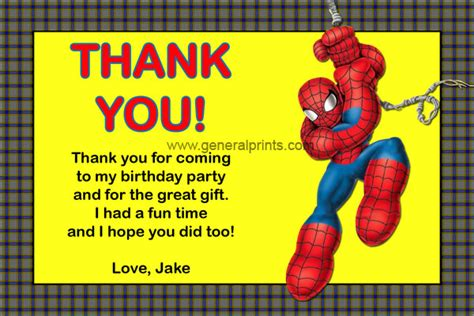 thank you card template for coming to event invitations general prints